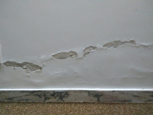 humedades en paredes interiores