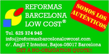 Reformas Barcelona Low Cost | Sómos Los Auténticos | 625 374 945
