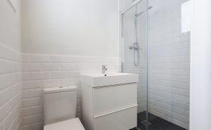 Distribución de los muebles de baño