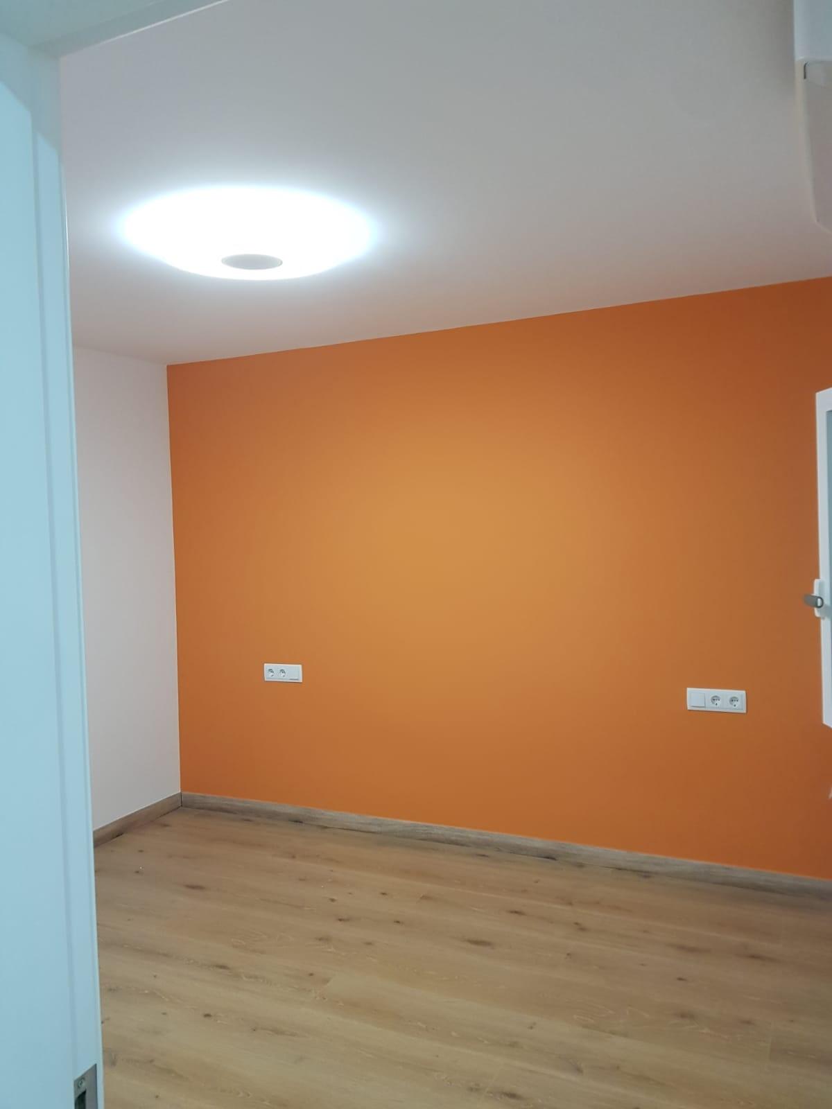 Pintura en las habitaciones