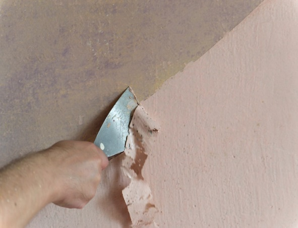 espatula humedades en paredes interiores